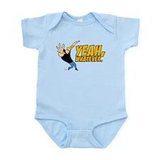 Johnny Bravo Yeah Whatever Infant Bodysuit