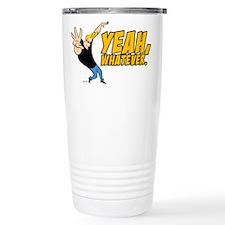 Johnny Bravo Yeah Whatever Travel Mug