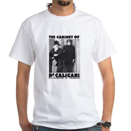 The cabinet of Dr Caligari White T-Shirt