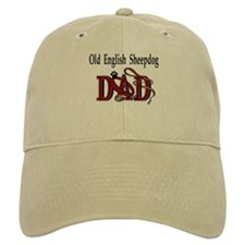 Old English Sheepdog Dad Baseball Cap