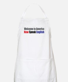Speak English BBQ Apron