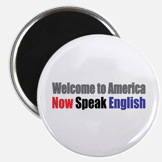 "Speak English 2.25"" Magnet (10 pack)"