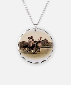 Old style photograph design o Necklace