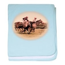 Old style photograph design o baby blanket