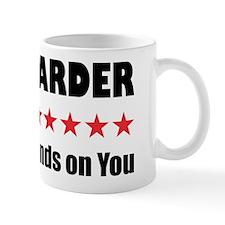 Work Harder Coffee Mug