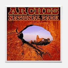 Arches National Park Tile Coaster