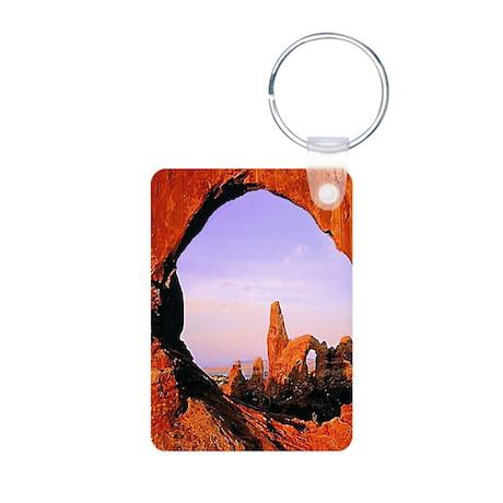 Arches National Park Aluminum Photo Keychain