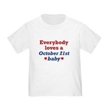 October 21st T