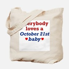 October 21st Tote Bag