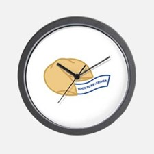 Soon to be Father Wall Clock