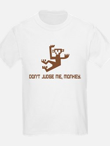 Don't Judge Me, Monkey T-Shirt