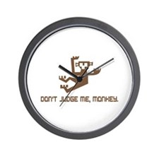 Don't Judge Me, Monkey Wall Clock