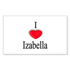 Izabella Rectangle Decal