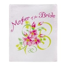 Mother of the Bride Throw Blanket