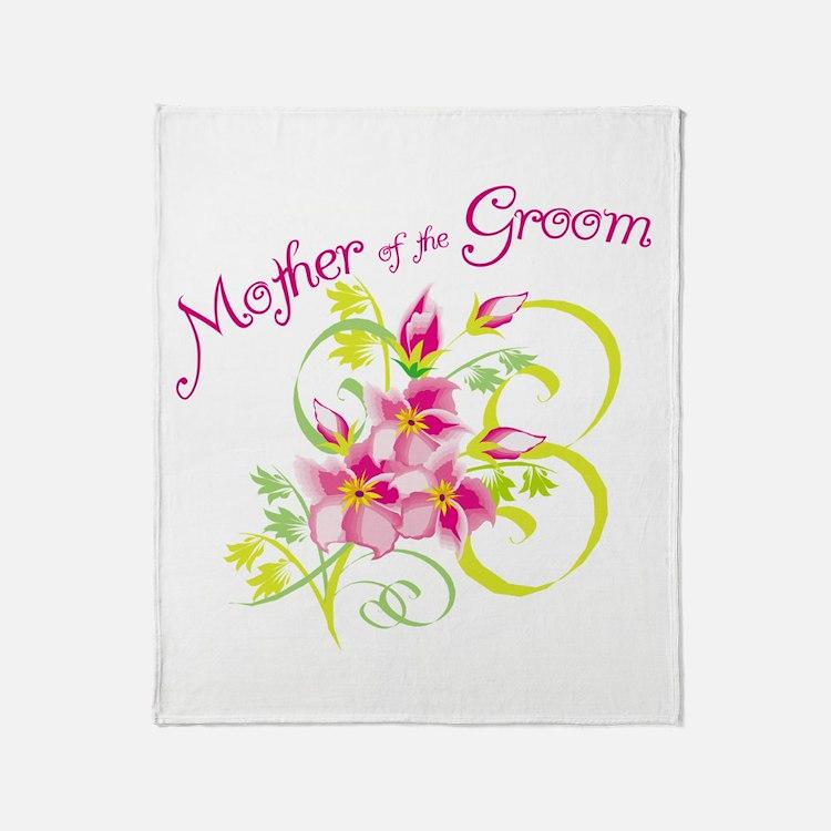 Mother of the Groom Throw Blanket