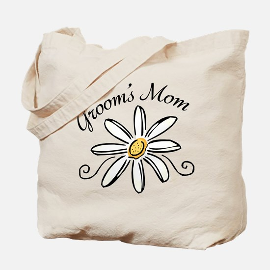 Daisy Mother of Groom Tote Bag