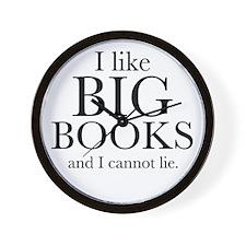 I LIke Big Books Wall Clock
