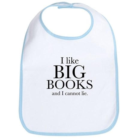 I LIke Big Books Bib