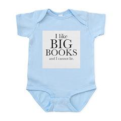 I LIke Big Books Infant Bodysuit
