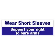 short sleeves... Bumper Bumper Sticker