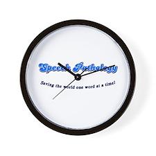 Speech Pathology Wall Clock