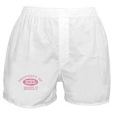 Property of Emily Boxer Shorts