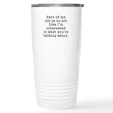 Exempt Travel Mug