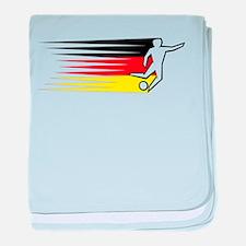 Football - Germany baby blanket