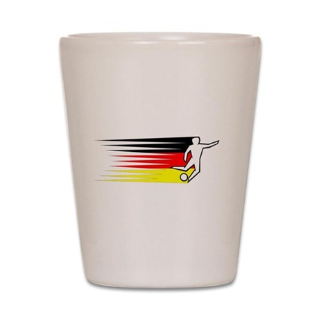 Football - Germany Shot Glass