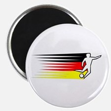 """Football - Germany 2.25"""" Magnet (10 pack)"""