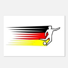 Football - Germany Postcards (Package of 8)