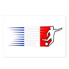 Football - France Postcards (Package of 8)