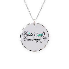 BRIDE'S ENTOURAGE Necklace Circle Charm