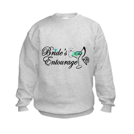 BRIDE'S ENTOURAGE Kids Sweatshirt