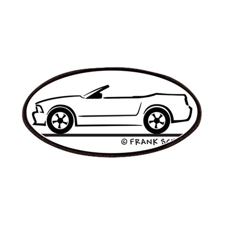 2007 Ford Mustang Convertible Patches by FrankSchuster