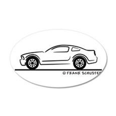 New Ford Mustang Fastback 38.5 x 24.5 Oval Wall Pe