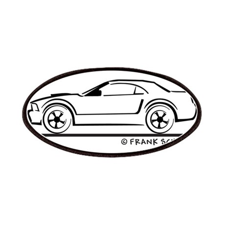 Ford Mustang Convertible Top Patches by FrankSchuster