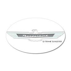 Thunderbird Emblem 22x14 Oval Wall Peel