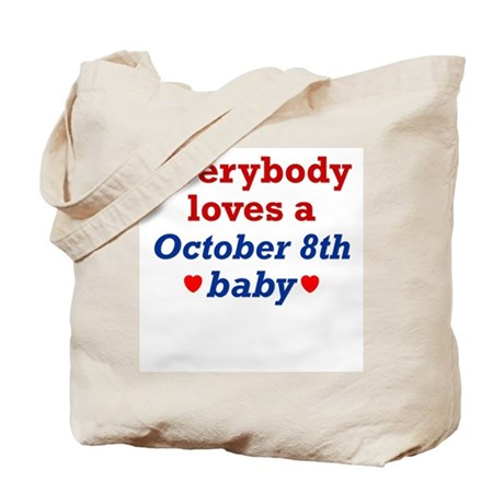 October 8th Tote Bag