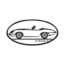 Jaguar E-Type Roadster Patches