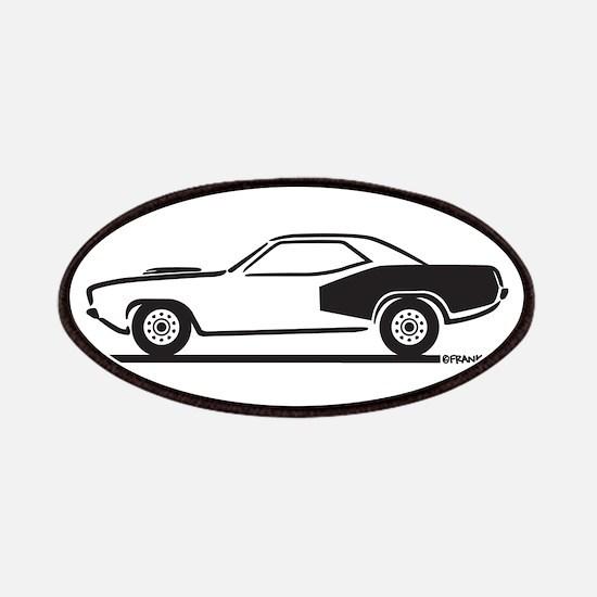 1970-74 Plymouth Hemi Cuda Patches