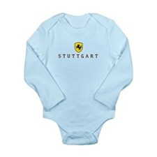Stuttgarter Wappen Long Sleeve Infant Bodysuit