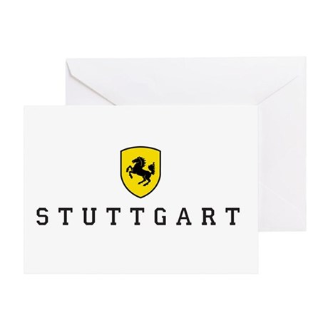 Stuttgarter Wappen Greeting Card