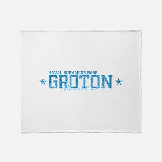 NSB Groton Throw Blanket