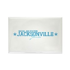 NAS Jacksonville Rectangle Magnet