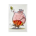 RoDeO PiG Rectangle Magnet (10 pack)