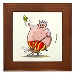 RoDeO PiG Framed Tile