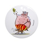 RoDeO PiG Ornament (Round)