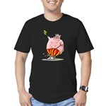 RoDeO PiG Men's Fitted T-Shirt (dark)
