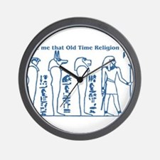 Old Time Religion Wall Clock